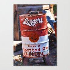 Soup?! Canvas Print