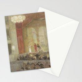 Johan Antonie de Jonge - Princesse Schouwburg te Den Haag tijdens de opvoering van Othello Stationery Cards