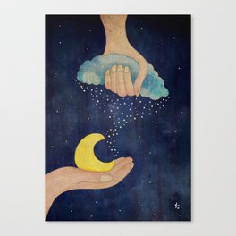 Handmade Night Canvas Print