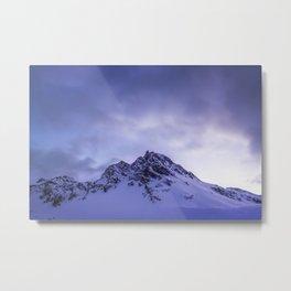 Good Night Alps Metal Print