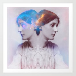 Nebulosa Woolf Art Print