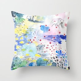 They lived lives no one had dreamt of Throw Pillow