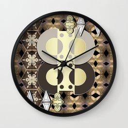 The Ornament of Art Deco Wall Clock