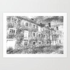 House Mill Bow London Vintage Art Print