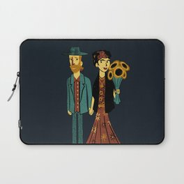 Love is Art Frida Kahlo and Van Gogh Laptop Sleeve