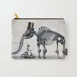 Mister Mastodon And Molly June Carry-All Pouch