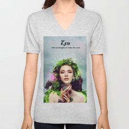 Zen Unisex V-Neck