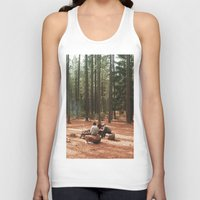 camp Tank Tops featuring Camp by Casey Afton Hess