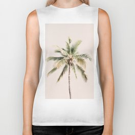Tropical Palm Tree Biker Tank