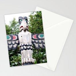 Alaskan Totem - Eagle Stationery Cards