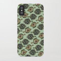Artichoke Pattern Slim Case iPhone X