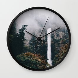 Multnomah Falls Wall Clock