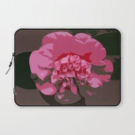 Pink Camelia Laptop Sleeve