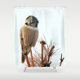 Finding the balance Shower Curtain