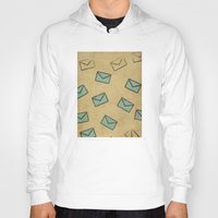 letter Hoodies featuring Letter by sinonelineman