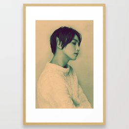 Elf Jeonghan Framed Art Print