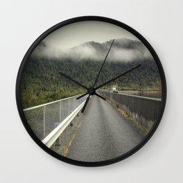 MacIntosh Dam Wall Wall Clock