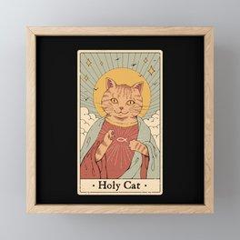 Holy Cat! Framed Mini Art Print