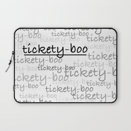 Call the Midwife - Tickety-boo Laptop Sleeve