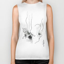 Floating Candle Plant Biker Tank