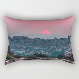 Otherworldly sunrise of Hampi, India Rectangular Pillow