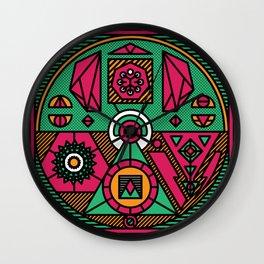 CrystalWitch Wall Clock