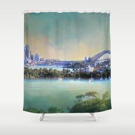 Sydney - The Harbour City Shower Curtain