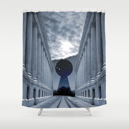 Keyhole to Infinity Shower Curtain