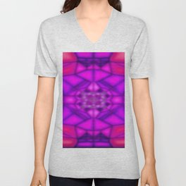 Window's colored shadow ... Unisex V-Neck