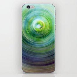 Green Whirl iPhone Skin
