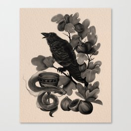 Corvus (Dark Familiars Series #3) Canvas Print