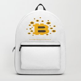 Bitcoin Cryptocurrency Backpack