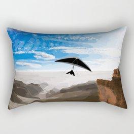 Hang gliding Rectangular Pillow