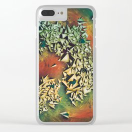 Ammolite Clear iPhone Case