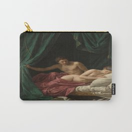 Louis-Jean-Francois Lagrenee's Mars and Venus Allegory of Peace Carry-All Pouch
