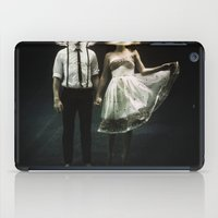 bag iPad Cases featuring abyss of the disheartened : IV by Heather Landis