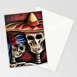 The day of the Dead Stationery Cards