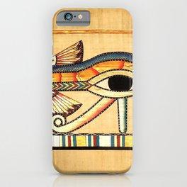 Egypt Nekhbet Eye Horus iPhone Case