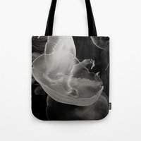 abyss Tote Bags featuring Abyss by Bella Blue Photography