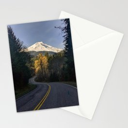 Road to Mount Baker Stationery Cards