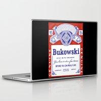 bukowski Laptop & iPad Skins featuring bukowski by Mathiole