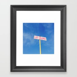 Lost children Framed Art Print