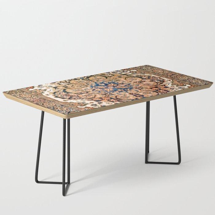 Ferahan Arak  Antique West Persian Rug Print Coffee Table