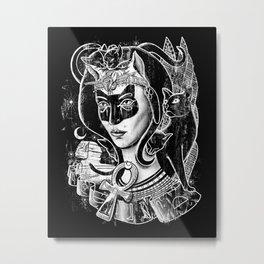 Bastet Metal Print
