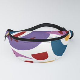 Fishes Pattern Illustration Kids Art Fanny Pack