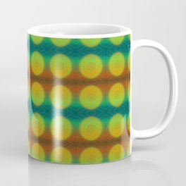 Taurus Flower of Life Astrology Pattern Coffee Mug