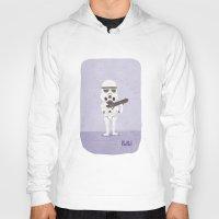 storm trooper Hoodies featuring Storm Trooper by Popol