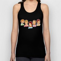 Alan & Dennis & Brian & Mike & Carl Unisex Tank Top