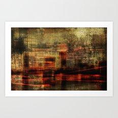 Cityland Art Print