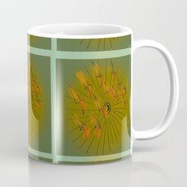 Taking Flight - Olive Orange Yellow & Black Palette Coffee Mug